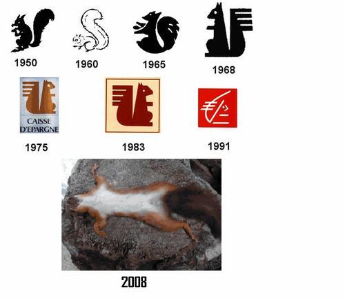 Souvent Le logo de la caisse d'épargne à travers les âges | Laurence et  GC63